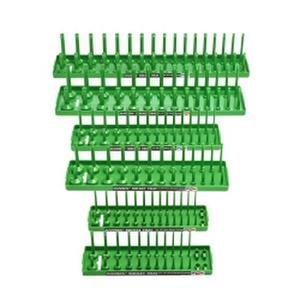 Hansen Global 92001 Socket Tray (6 Pack), Green