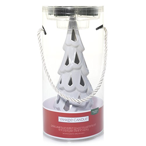 Christmas Tree Votive Holder - Yankee Candle Company 1552456 Tree Luminary Christmas Gift Set