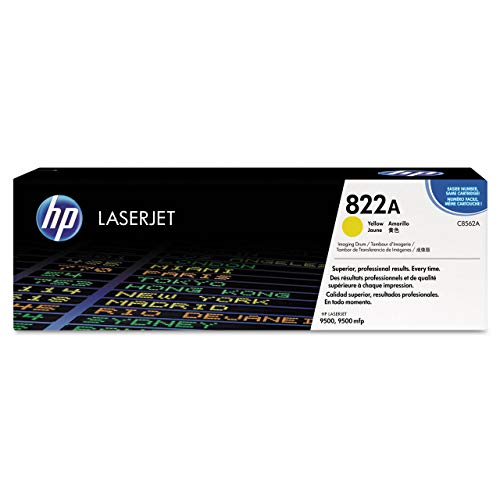 - HP C8562A 822A Genuine Yellow Drum Color LaserJet 9500