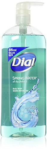 Dial All Day Freshness Antibacterial Body Wash, Spring Water 35 Oz (2 - Oz 35 Body