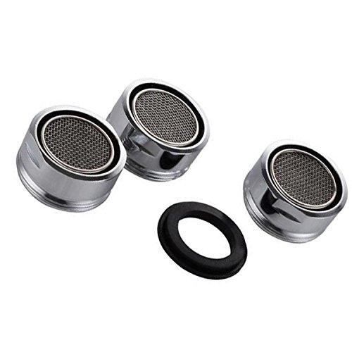 VABNEER 3 piezas Filtro grifo de accesorios de grifo Difusor Filtro grifo de ahorro de agua con junta Para cocina y bano