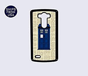 LG G3 Case - Newspaper Tardis Doctor Who iPhone Cover