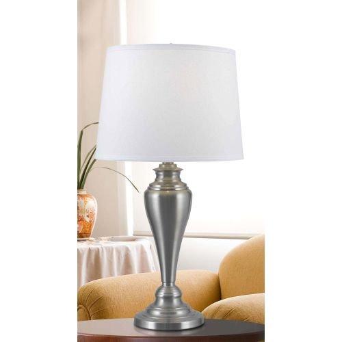 Kenroy Home 80013BS Edson Lamp Set, 3-Pack