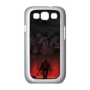 Zombie Series,Samsung Galaxy S3 Case,Zombies Phone Case For Samsung Galaxy S3[White]