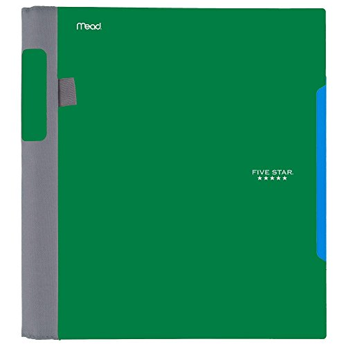 Five Star Advance Spiral Notebook, 1 Subject, College Ruled Paper, 100 Sheets, 11