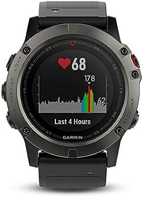 57b343bef7af Garmin Fenix 5X- Reloj GPS con pulsómetro