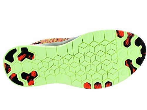 Nike Kvinna Gratis Tr Flyknit Hyper Orange / Svart / Knappt Volt Löparskor 10 Kvinnor Oss