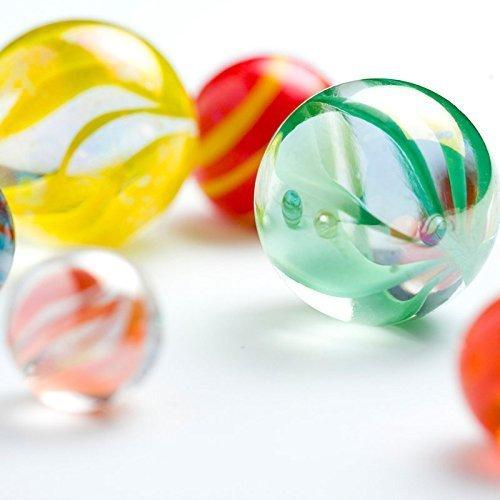 "IFfree 1"" Mega Marbles in bulk Glass Marbles for Children, SET OF 24 ASSORTED BULK IFfreeT"
