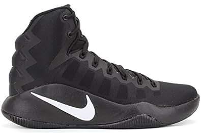Nike Mens Hyperdunk 2016 Basketball Shoes in Black/White 7.5 D(M) US
