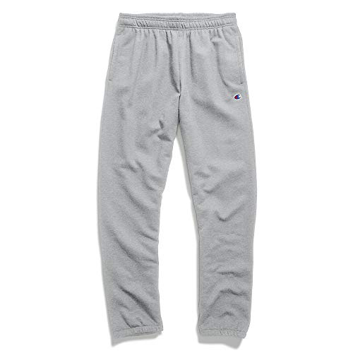 Champion Men's Powerblend Sweats Relaxed Bottom Pants Oxford
