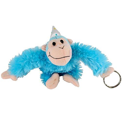 Monkey Birthday Happy (Just for Laughs happy Birthday Monkey Keychain (Blue))