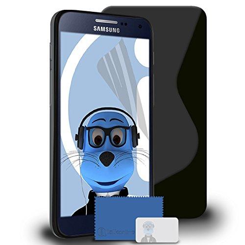 TPU Jelly Case for Samsung Galaxy A8 (Black) - 5