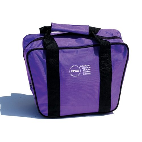 Aurora 4 Ball Soft Pack Bowling Bag- Purple by Bowlerstore Products