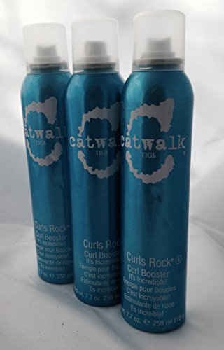 TIGI Catwalk Curls Rock Curl Booster, 7.7 oz, 3 pk (Curl Booster Rock Curls)