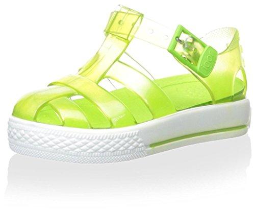 Green Jelly Sandals (Igor Baby S10107.094 Tenis Flat Sandal, Pistachio, 23 M EU Toddler (7 US))