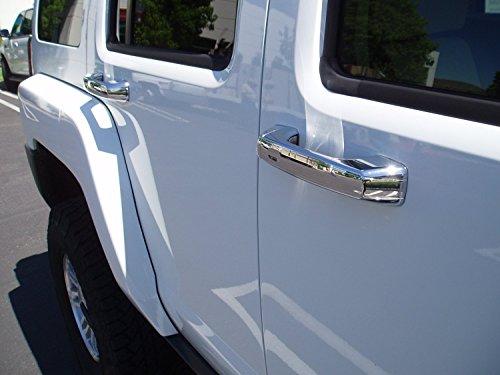 hummer h3 door handle chrome - 5