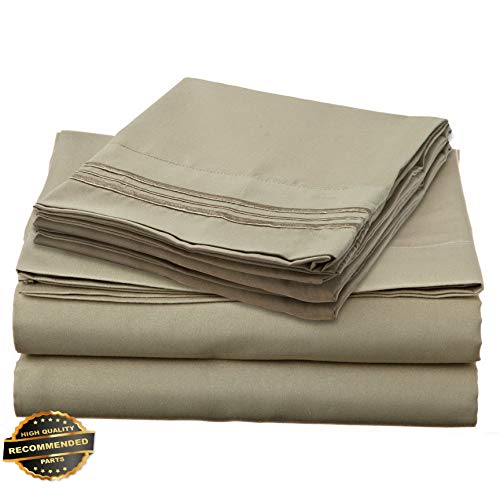 Werrox 1700 Series DEEP Pocket 4 Piece Bed Sheet Set - 19 Colors Available in Twin Size   Quilt Style QLTR-291266524