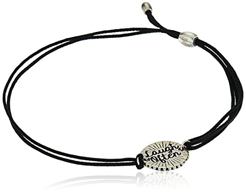 Alex and Ani Kindred Cord, Laugh Often, Sterling Silver Bangle Bracelet