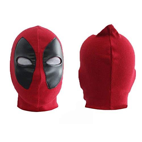 LQT Ltd Deadpools Mask Weapon X Superhero Balaclava Full Face Masks Cosplay Costume Hats Arrow Death Rib Fabrics ()