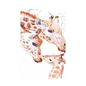 Giraffe Custom 3D Plastic Case for iPhone 5,5S by Nickcase