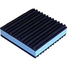 Anti Vibration Pads 4 x 4 x 7/8 All Purpose Super Duty Blue Composite foam Vibration isolation pads by UPE Group