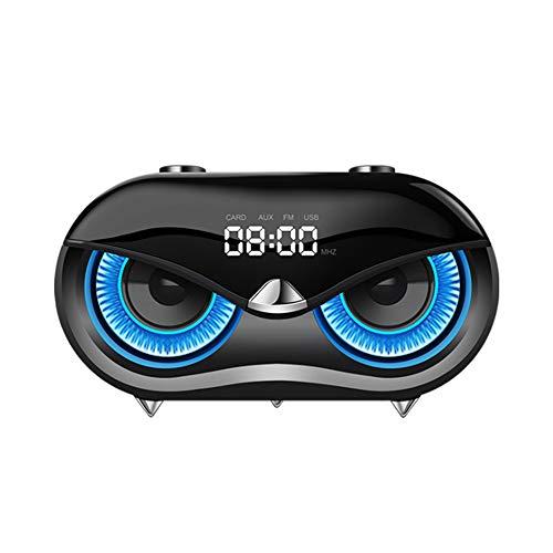 Altavoz Bluetooth, al aire libre Mini subwoofer inalámbrico Bluetooth altavoz portátil impermeable bicicleta paseo pequeño...