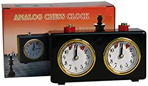 WorldWise Imports Analog Chess Clock