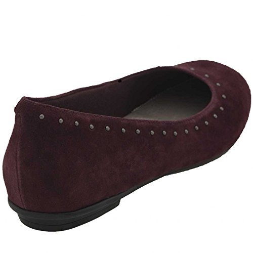 Slip Burgundy on on Womens Burgundy Suede Earth Slip Earth Anthem Anthem Suede Womens BnUzqEgP
