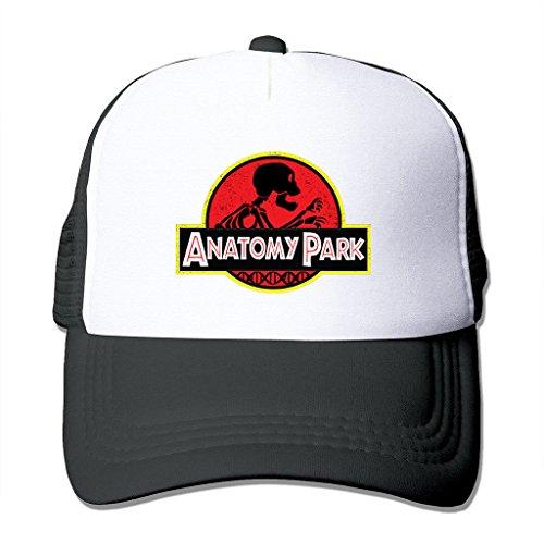LIANBANG Anatomy Park Rick And Morty Adjustable Printing Snapback Mesh Hat Unisex Adult Baseball Mesh Cap