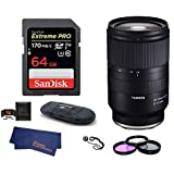 Tamron 28-75mm f/2.8 Di III RXD Lens for Sony E Mount with 64GB PRO Bundle