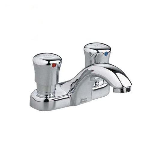 American Standard 1340.225.002 4-Inch Metering Centerset Faucet, Chrome
