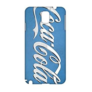 WWAN 2015 New Arrival coca cola round logo 3D Phone Case for Samsung NOTE 3