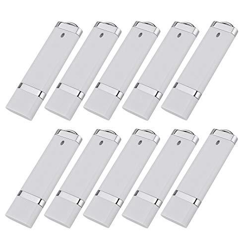 KEXIN 10pcs 8GB 8G USB Flash Drive Pen Drive Memory Stick White