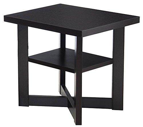 Simmons Upholstery & Casegoods 7119-47 End Table Merlot (Nesting Merlot Tables)