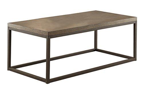 Homelegance 3224N-30 Wood/Metal Cocktail Table, Brown