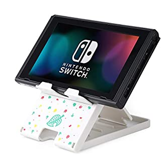 Tscope Switch Stand for Nintendo, Animal Crossing Switch Holder, Adjustable Switch Lite Compact Portable Foldable Mount for Nintendo Switch Accessories