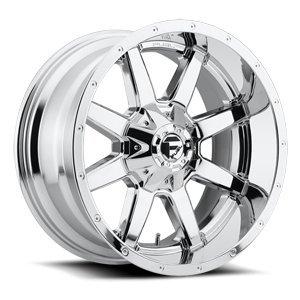 Fuel Maverick 20 Chrome Wheel / Rim 6x135 & 6x5.5 with a -44mm Offset and a 106.4 Hub Bore. Partnumber D53620209847 ()