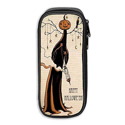 Pencil Bag Pen Case Happy Halloween ipad 9