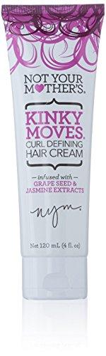 Your Perm Hair (Not Your Mothers Kinky Moves Hair Cream 4 Ounce (Curl Define) (118ml))