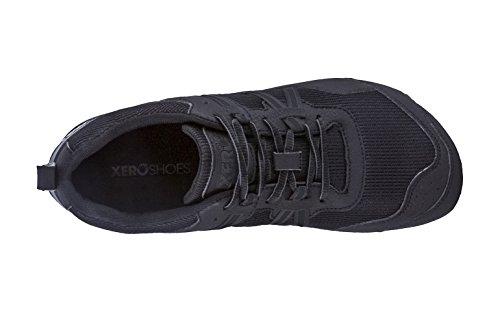 Xero Zapatos Prio - Minimalista Sendero Descalzo Y La Carretera Zapatillas Deportivas - Acondicionamiento Físico, Atlético Caída Cero Zapatilla De Deporte - Negro De Los Hombres