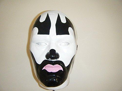 WRESTLING MASKS UK Black - Insane Clown Posse - Hard Thermo Plastic- Universal Mask]()