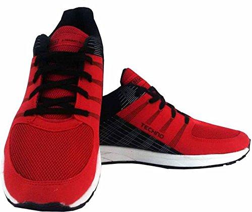 Sega Running Shoes for Unisex in Red