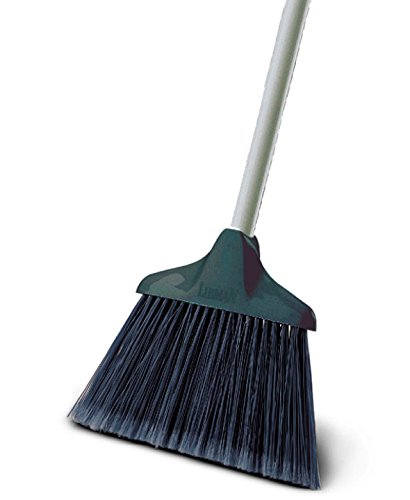 Libman Commercial 499 Housekeeper Broom, 53'' Length, 10'' Width, Black/Grey (Pack of 6)