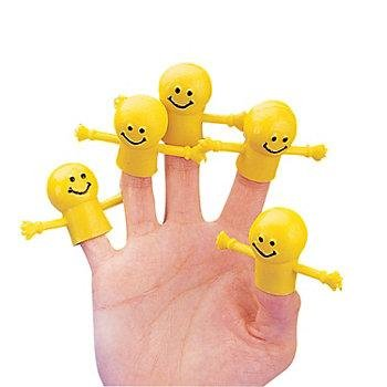 Smiley Finger Puppets - 72 per pack by SmileMakers
