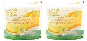 Amazon.com: Grab Green Garbage Disposal Freshener and