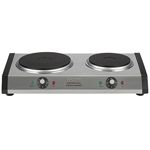 Waring DB60 Portable Double Burner (Certified Refurbished) by Waring