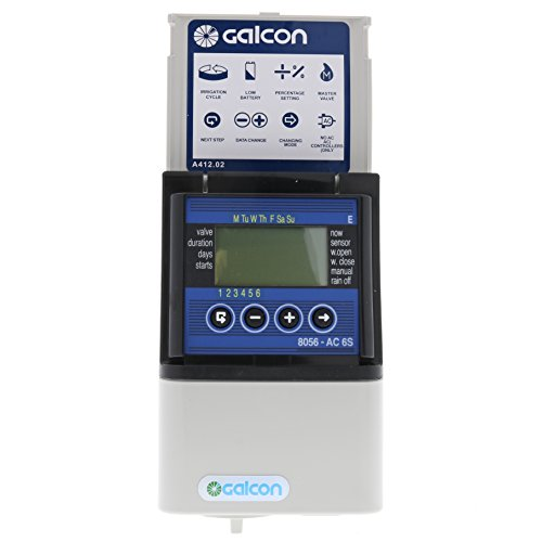 Galcon 8056S AC-6S 6-Station Indoor Irrigation and Propagation Seconds Operation Controller