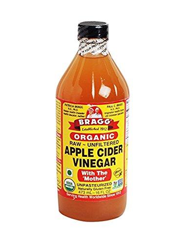 Bragg USDA Organic Raw Apple Cider Vinegar w/ No Mother | 16oz Bottle | Gluten F…
