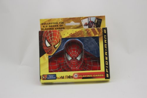 Spider-Man 2 Movie Two Decks of Playing Cards in Collector Tin 2002