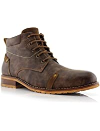 Colin MFA806033 Men's Stylish Mid Top Boots for Work Or Casual Wear